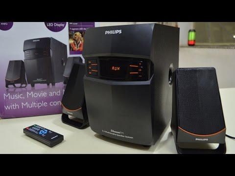 Philips 21 Speakers MMS 2550f94 UNBOXING & REVIEW