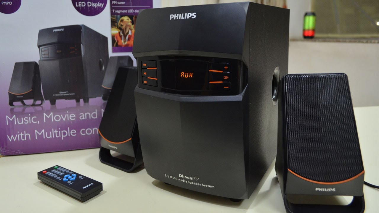26e94950d Philips 2.1 Speakers MMS 2550f 94 UNBOXING   REVIEW - YouTube