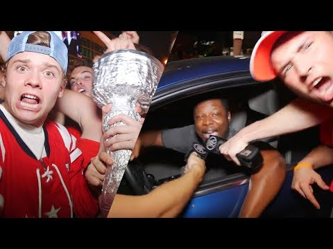 Capitals Fans React to Winning the Stanley Cup — Rone & Caleb Pressley
