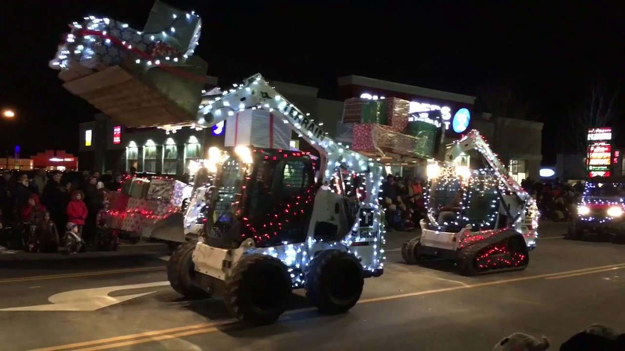 Flamborough Santa Claus Parade - Waterdown - Hamilton Overview - YouTube