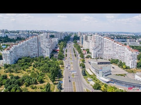 Chisinau, Republic of Moldova, 4K Resolution, DJI Inspire 1
