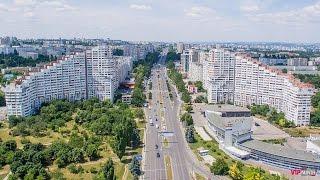Chisinau, Republic of Moldova, 4K Resolution, DJI Inspire 1