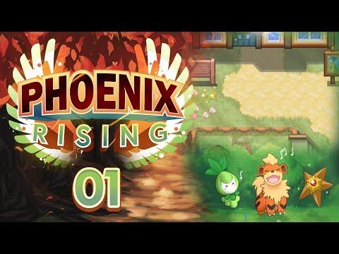 IT'S FINALLY HERE! Pokemon Phoenix Rising Let's Play! Episode 01 w/ aDrive