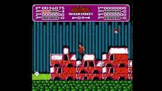 A Nightmare On Elm Street - Nightmare On Elm Street (NES) -  GamePlay - User video