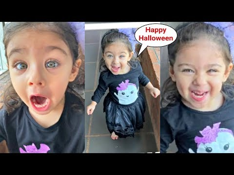 Inaaya Khemu  Cute Little Witch On Halloween Mp3