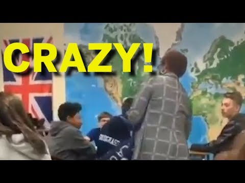 Teacher Harasses MAGA Flag Student