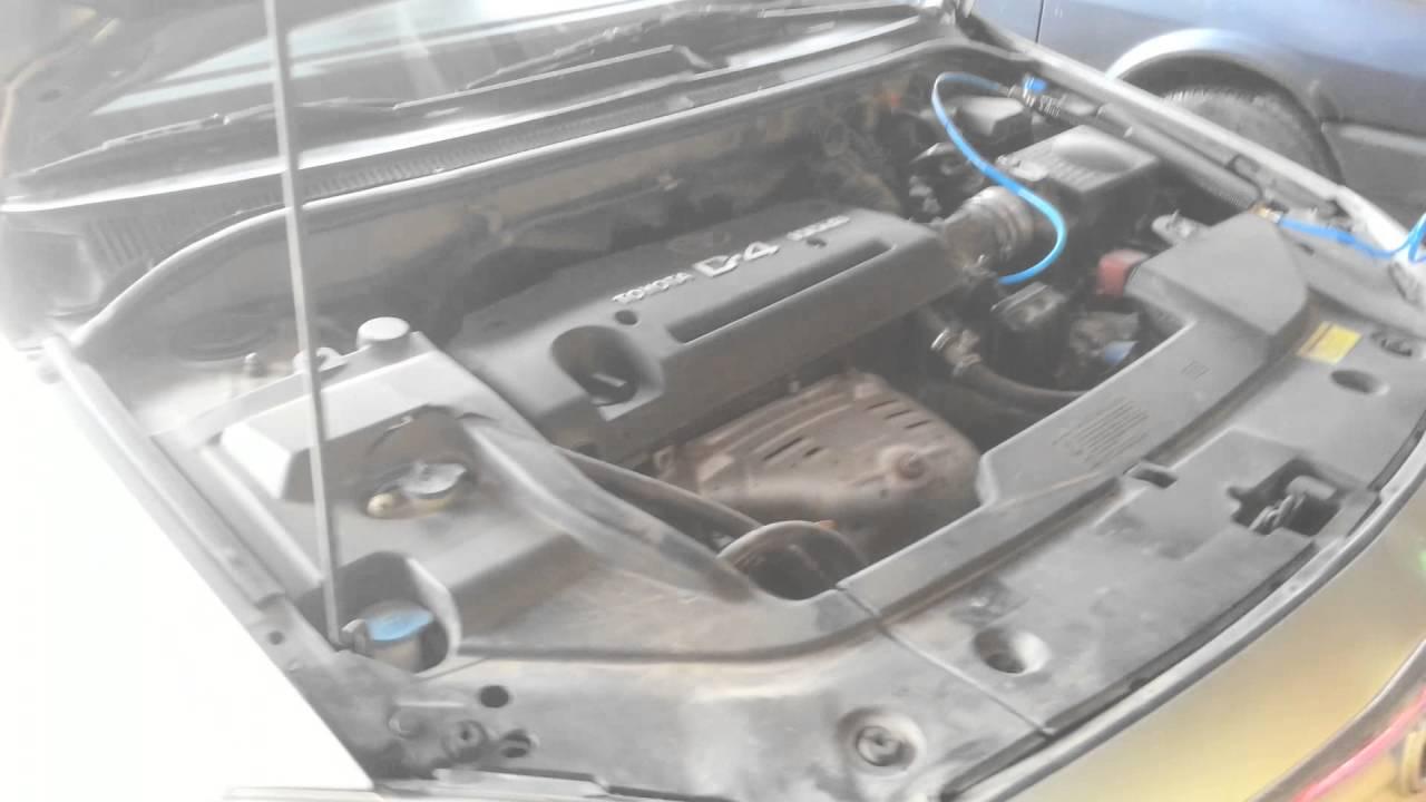 toyota avansis d4 hidrojen makinası ile motor karbon ve lpg sistem