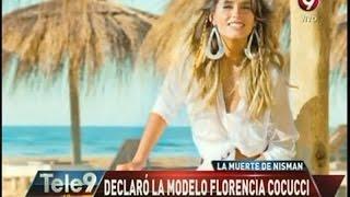 Declaró la modelo Florencia Cocucci