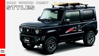 2019 Suzuki Jimny Model Range & Styles