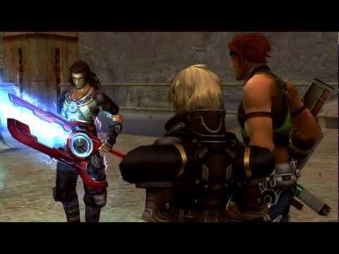 (Wii) Xenoblade Chronicles HD Cutscene 016 - Dunban Takes the Monado Once Again - ENGLISH