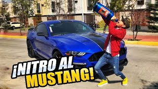 ¡LE PUSIMOS NITRO AL MUSTANG! | ManuelRivera11