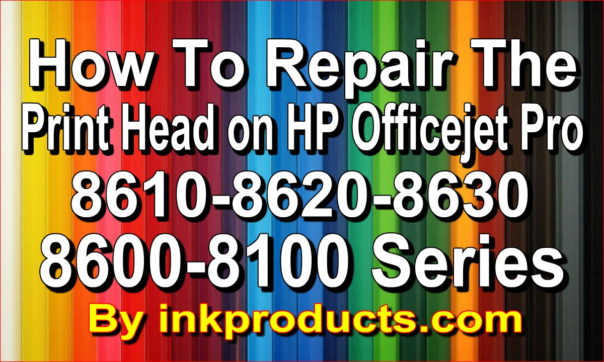 How To Repair The Hp Officejet Pro 860086108620863067006600