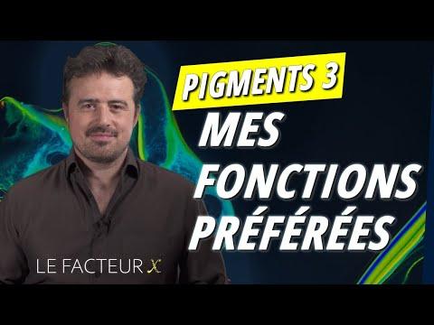 Pigments 3 : Mes fonctions préférées !