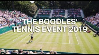 'The Boodles' Tennis Event Film 2019