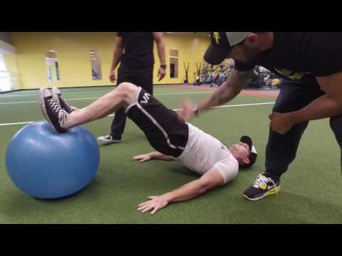 Build Your Hamstrings with the Stability Ball Leg Curl
