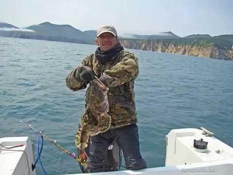 Рыбалка на Камчатке видео - ловля морского окуня и минтая, Тихий Океан