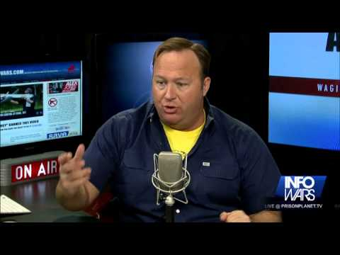 Alex Jones Rant: Military, They Are Coming For You, Too!