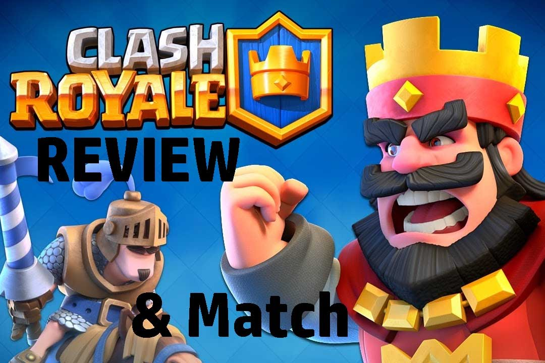 EPIC! Clash Royale Overview and Game Match - YouTube