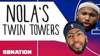 Anthony Davis and DeMarcus Cousins are twin towers for a modern NBA thumbnail
