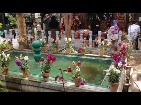 Isfahan - The Imperial Bazaar in Naqsh-e Jahan square
