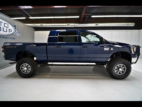 2009 Dodge Ram 2500 Diesel Mega Cab Lifted Truck 4 Sale