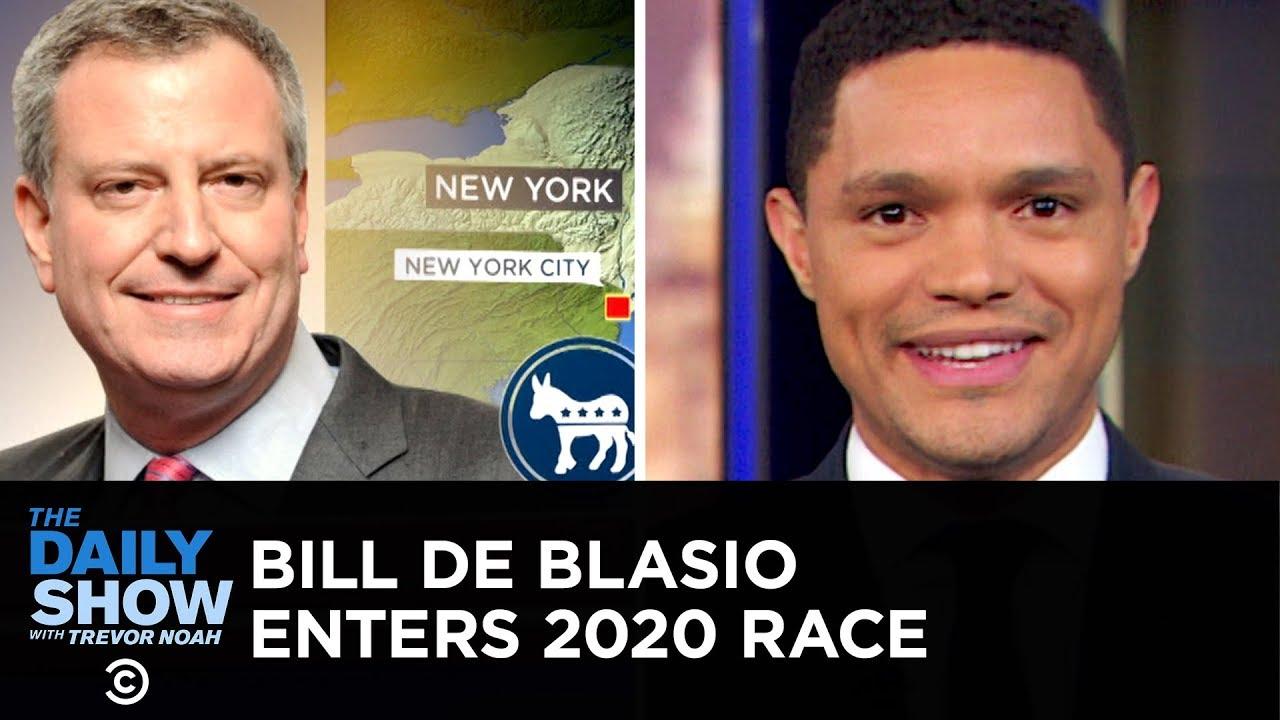 Download Steve Bullock and Bill de Blasio Enter the 2020 Democratic Field | The Daily Show