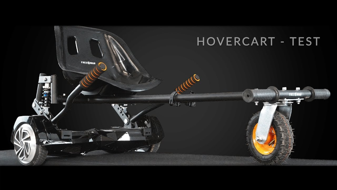hovercart das hoverboard wird zum gokart racer elektro. Black Bedroom Furniture Sets. Home Design Ideas