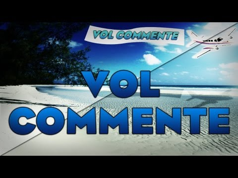 Vol commenté Paris-Nice Cote D'azur en Airbus A320 (Flight Simulator x)