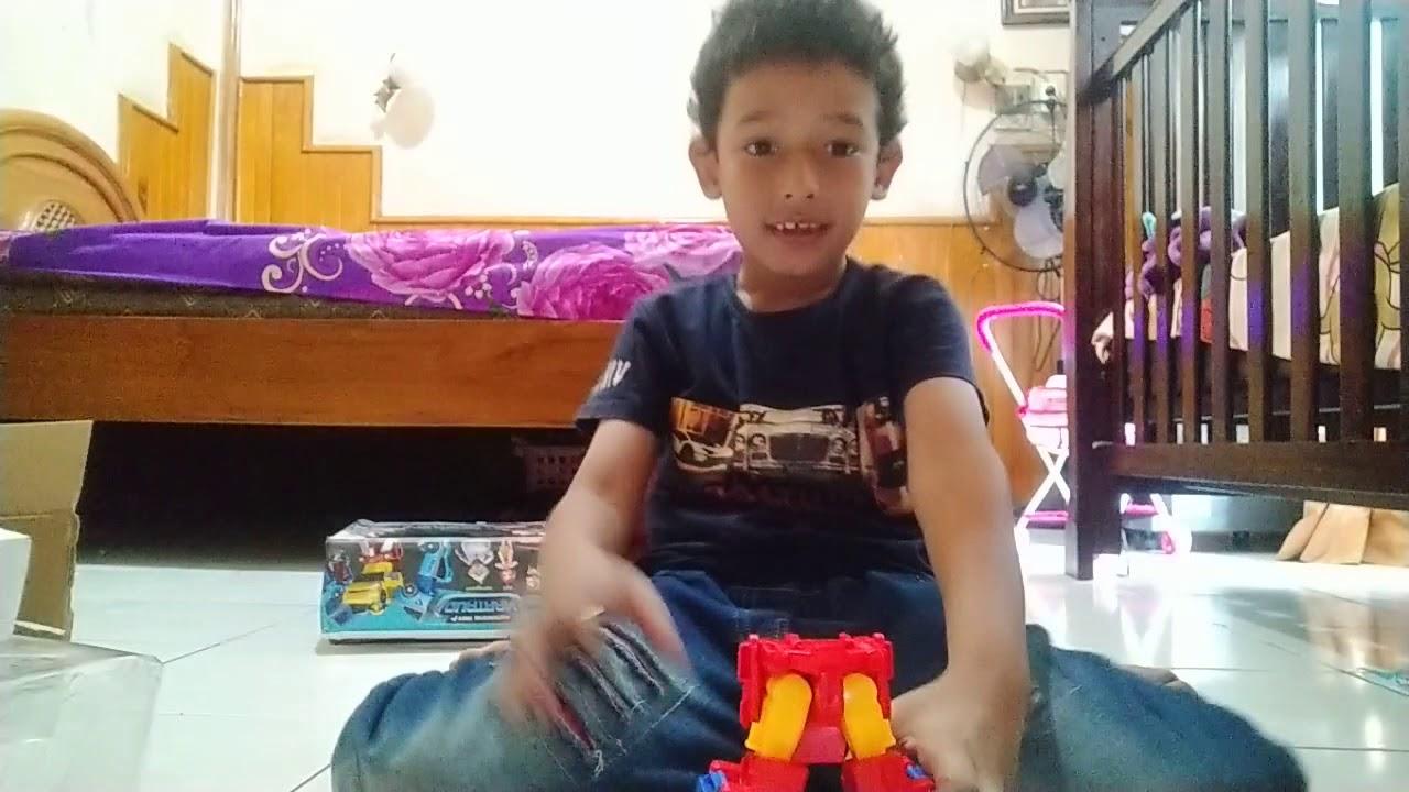 Lidya Ulfa Dailymotion Video Youtube Tvh Tobot Quatran Tutorial Robot Mobil Mainan Anak