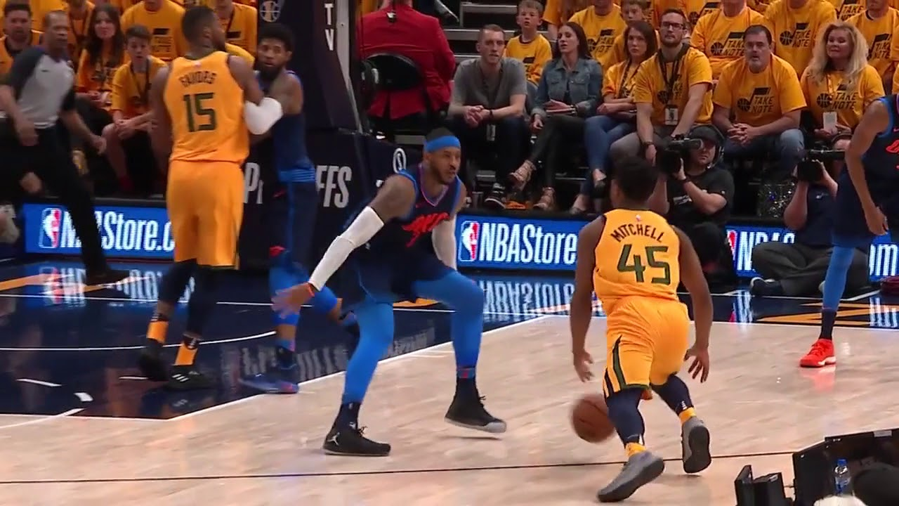 Donovan Mitchell Scores 38, Including 22 in Third Quarter, as Jazz Close Out Series vs. Thunder