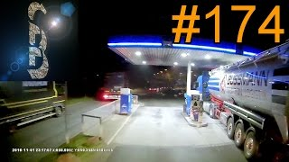 Sascha auf LKW-Tour #174 (Driving the getaway car and the inside of a petrol pump)