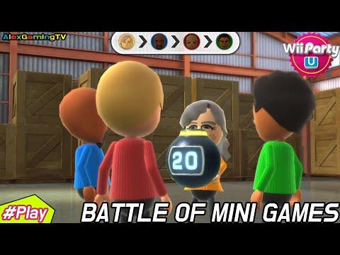 Wii party U - Battle of Minigames ( Master CPU, Eng Sub ) Player Matt