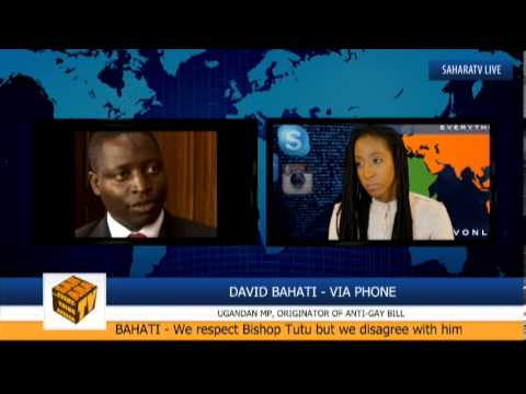"""This Law Is Not Extreme. Homosexuality Is Against Our Values."" - David Bahati"