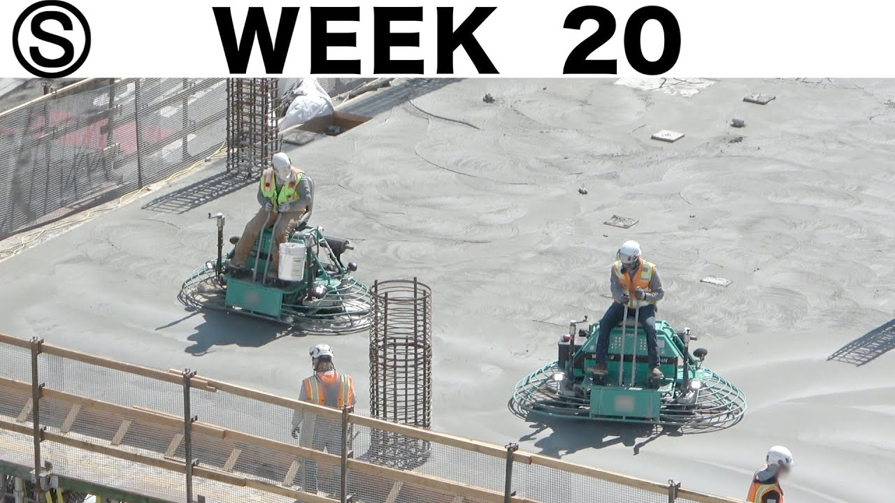 One-week construction time-lapse with closeups: Week 20 of the Ⓢ-series