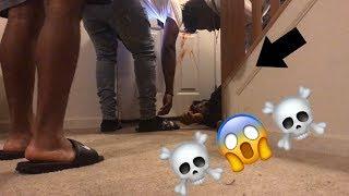 EXTREME DEAD ROOMMATE PRANK!!!