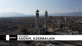 Телеканал Euronews показал уничтоженный армянами Агдам