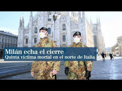 Milán echa el cierre por miedo al coronavirus