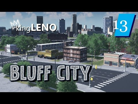 Cities Skylines: Bluff City (Ep: 13) Grit n' Grind