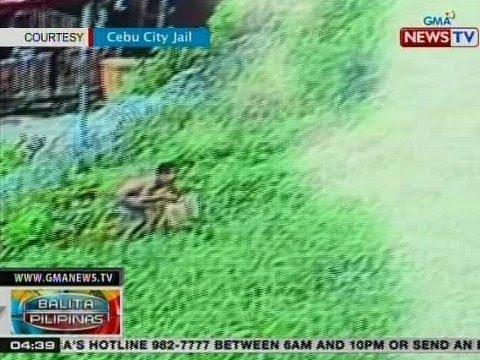 BP: Pagpupuslit ng sigarilyo sa Cebu City Jail, na-hulicam