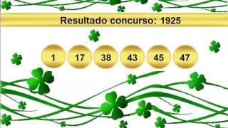 sorteio resultado mega sena 1925 Palpite 1926