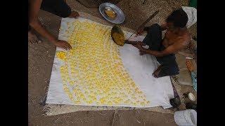 Yellow Color Traditional Sugar Candi | Batisalu | STREET FOOD NEAR SOUTH INDIAN TEMPLES