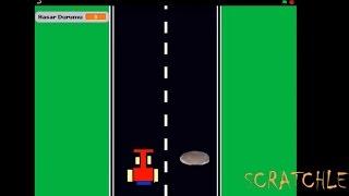 SCRATCHLE - Scratch Araba Yarışı Oyunu