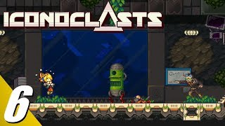 Iconoclasts - Walkthrough Part 6: Inti & Agent White Boss Fights (No Commentary)