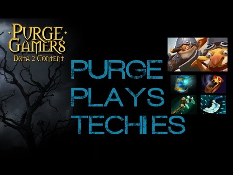 Dota 2 Purge plays Techies