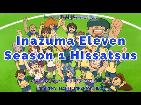 inazuma-eleven-season-1---all-hissatsu-techniques/tactics