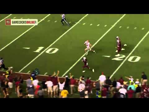 Highlight: Ace Sanders 70-yard Punt Return for a Touchdown - South Carolina vs. Georgia