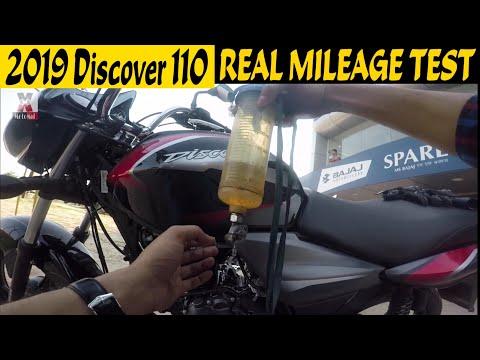 2019 Bajaj DISCOVER 110 ASB|Real MILEAGE TEST|MotoMad