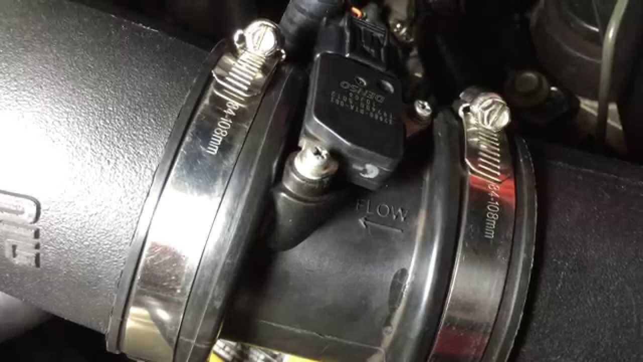 Air Intake Sensor >> Skunk2 Cold Air Intake MAF Coupler Cracking - YouTube