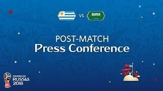 FIFA World Cup™ 2018: Uruguay - Saudi Arabia: Post-Match Press Conference