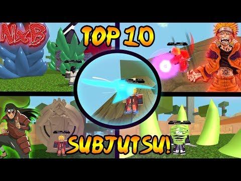 TOP 10 BEST SUBJUTSU (AND THE WINNER IS!?) | Naruto RPG: Beyond